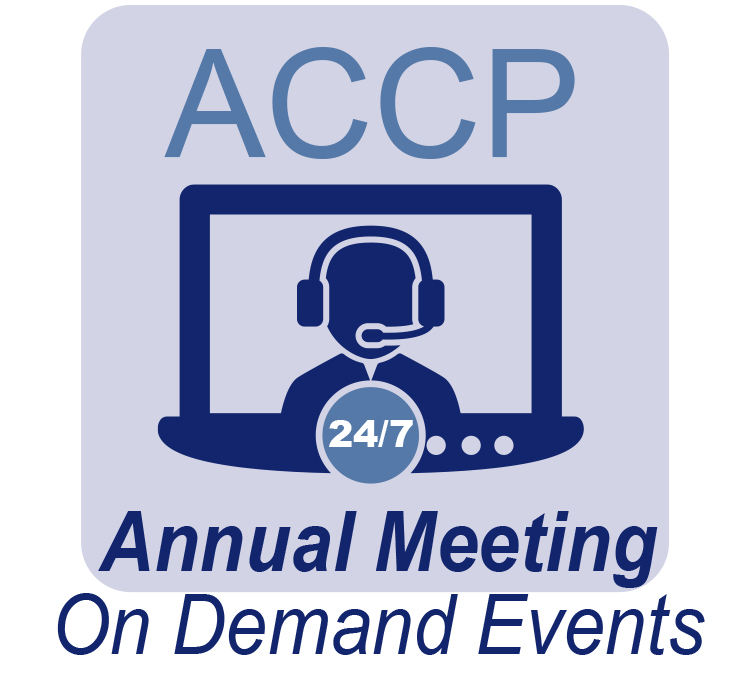 ACCP Annual Meeting On Demand Events